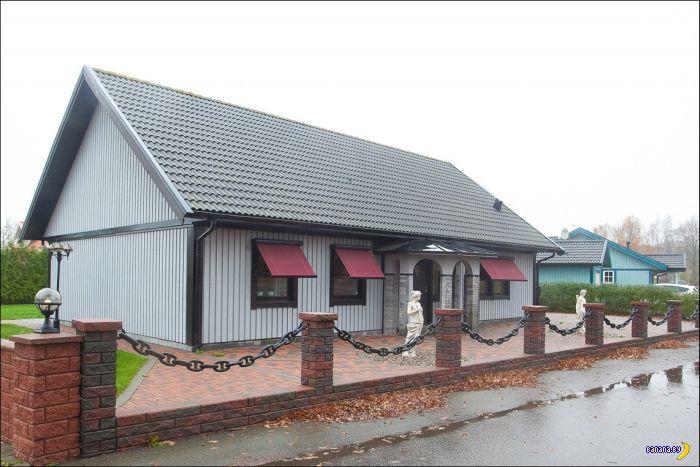 Странный дом продается в Швеции