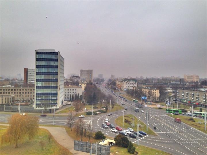 На Беларусь придут дожди и мокрый снег