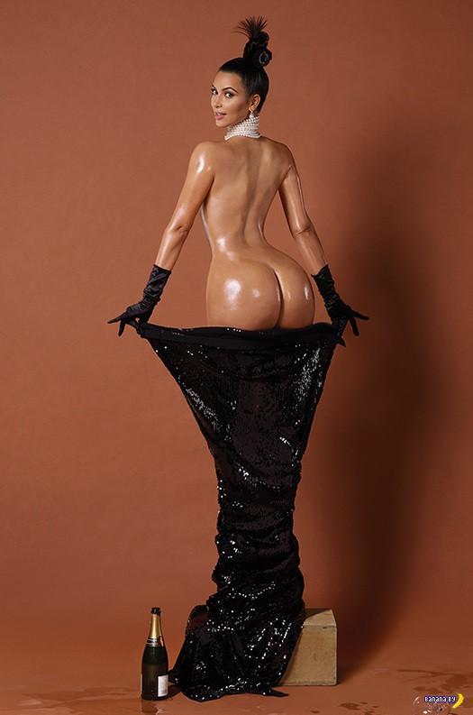 Ким Кардашян для Paper Magazine