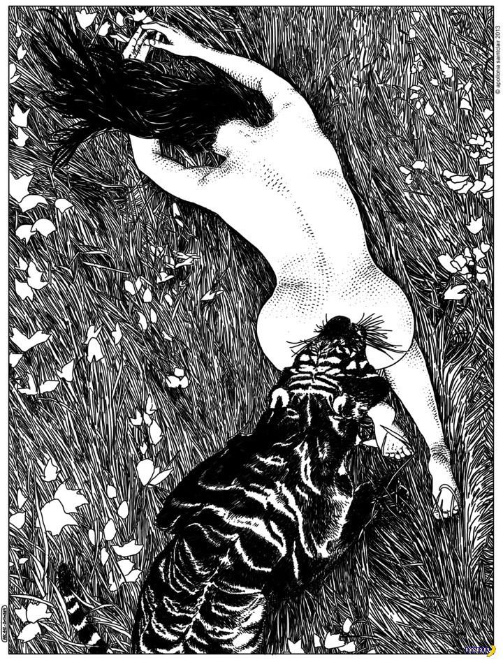 Рисует Апполония Сентклер