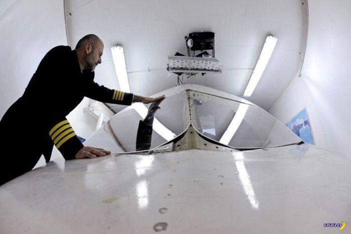 Гениальный авиасимулятор в гараже