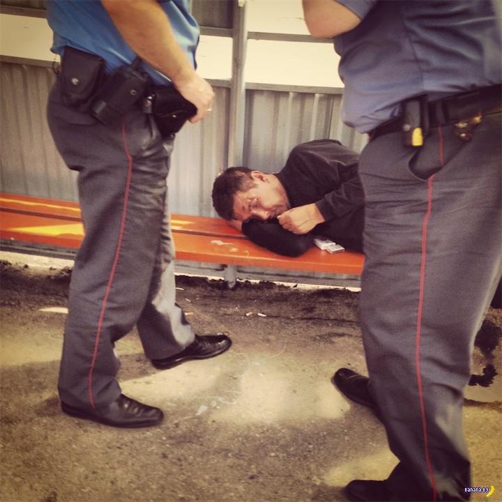 Милиция грозит тунеядцам