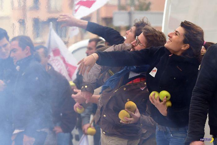 Фермеры устроили Майдан во Франции