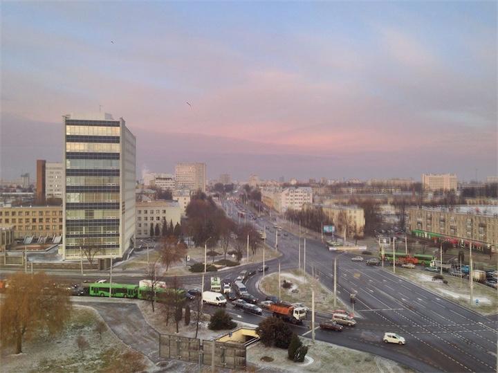 В ближайшие дни в Беларуси обещают дождь, мокрый снег и гололедицу
