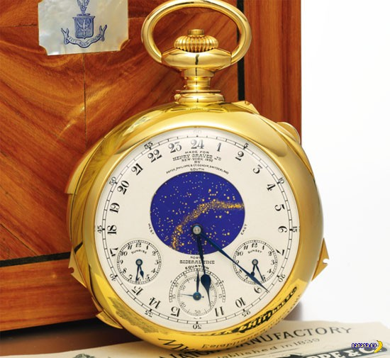 Часы Patek Philippe Henry Graves Supercomplication