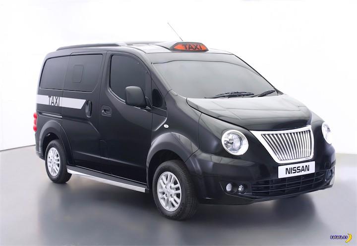 Вот так могли выглядеть новые лондонские такси