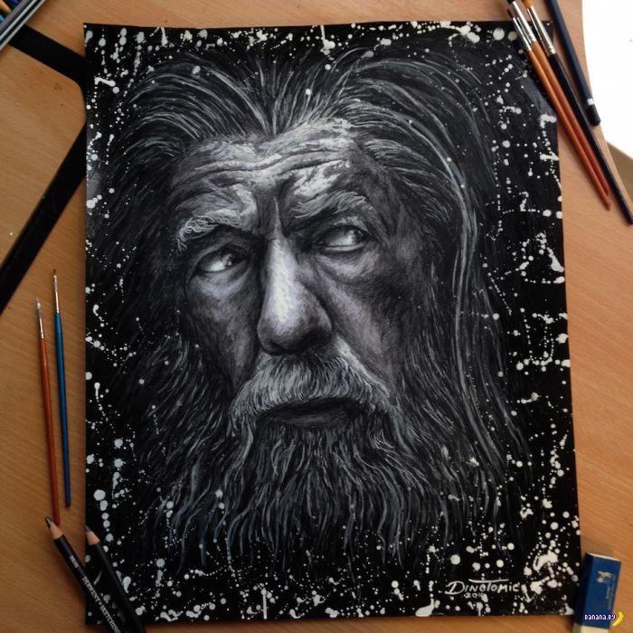 Рисует Дино Томик