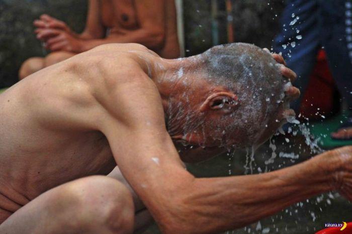 Китайская тюрьма для пожилых преступников