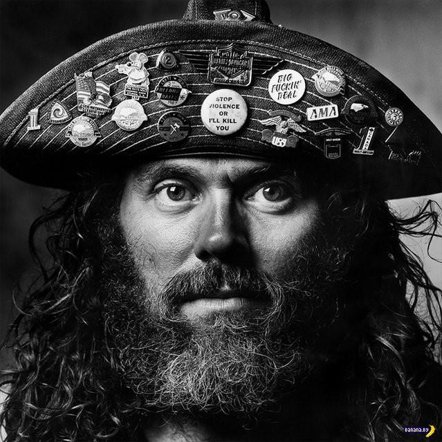 Сандро Миллер: портреты американских байкеров