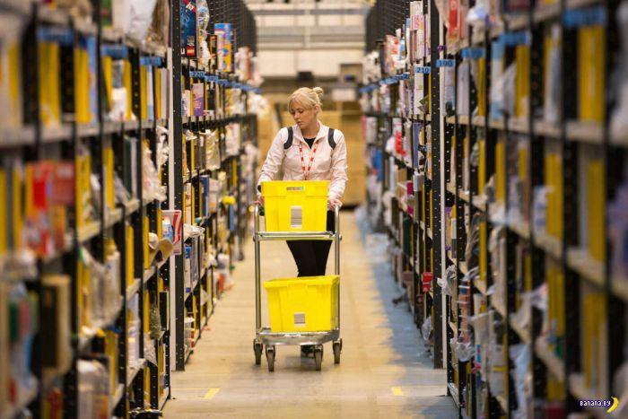 Магазин Amazon изнутри