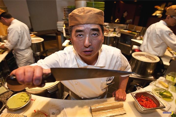 Эксперимент с суши