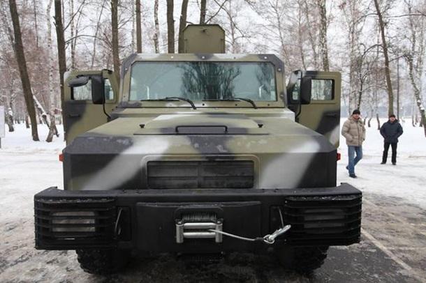 KOZAK - новый броневик для АТО