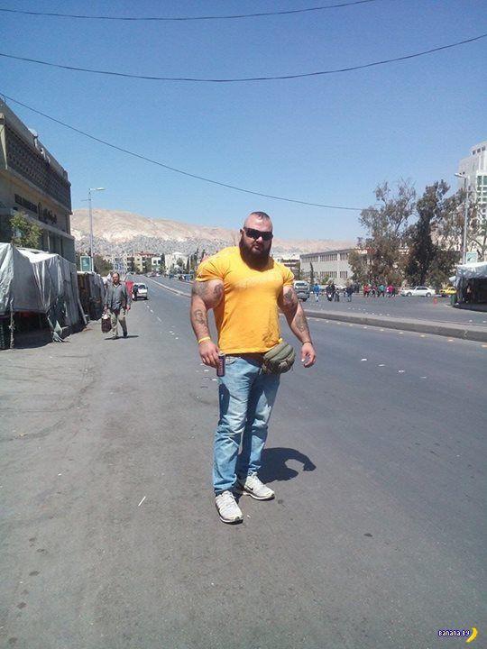 Синтол и мега-Рэмбо из Сирии