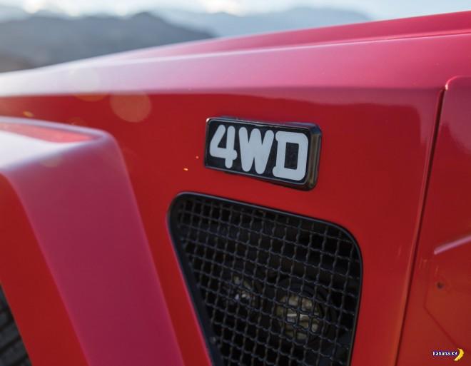 Редчайший зверь - Lamborghini LM002
