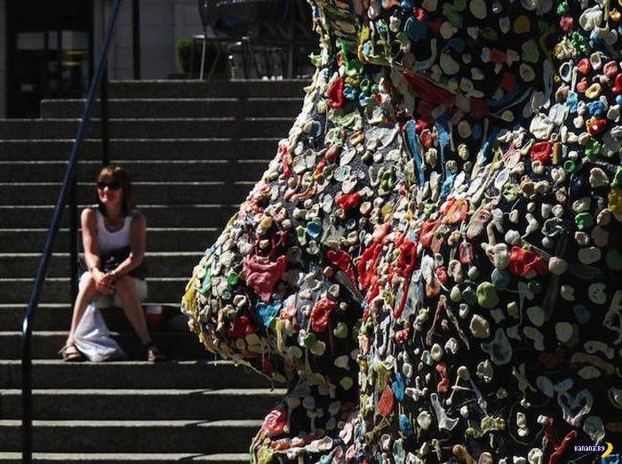 Экспериментальная скульптура для вандалов
