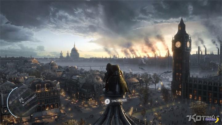 Утечка скринов из грядущей части Assassin's Creed