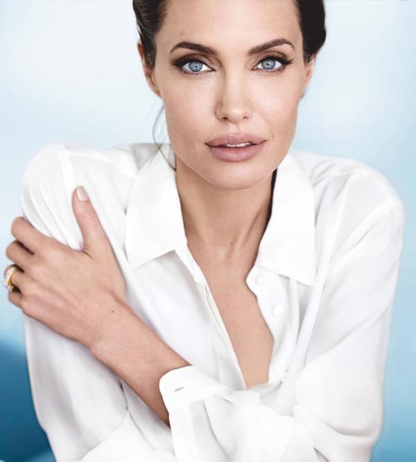 Анджелина Джоли в Vanity Fair