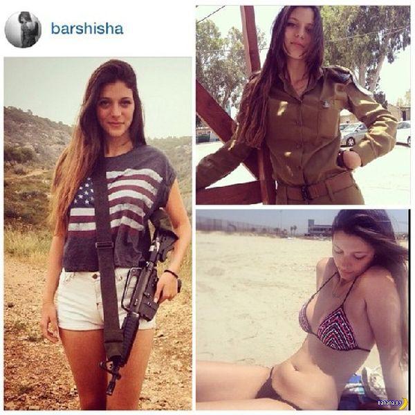 Красивая израильская военщина