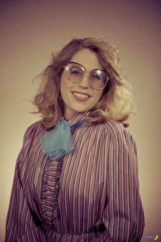 Гениальные портреты в стиле 80-х