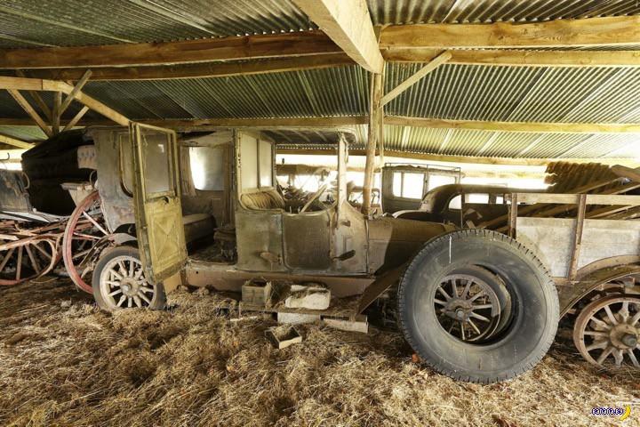 Фантастические богатства в старом амбаре