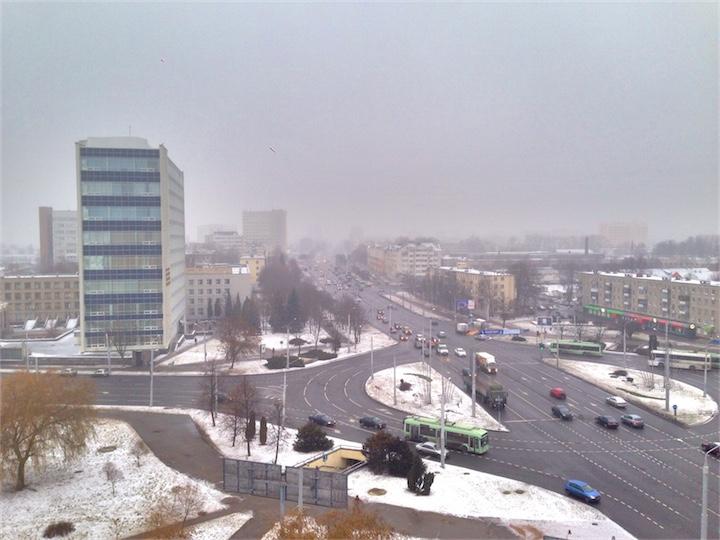 В Беларуси тепло и влажно