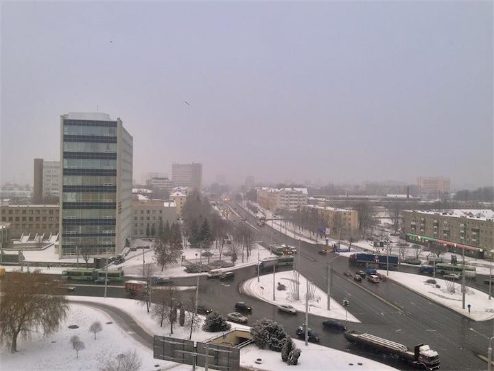 Мокрого снега всем!
