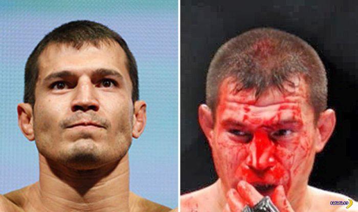 Коррекция лиц от UFC