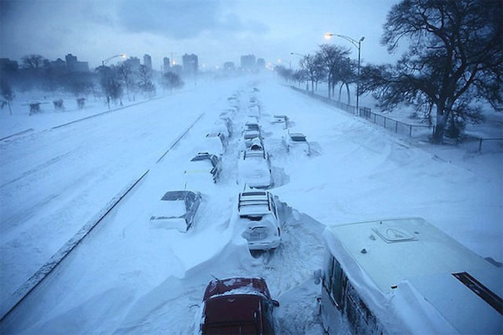 Обещают снежный шторм