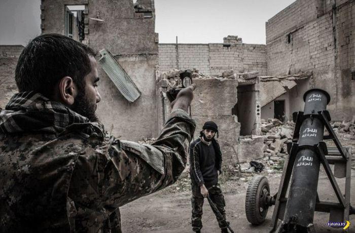 Сирийский адский миномёт