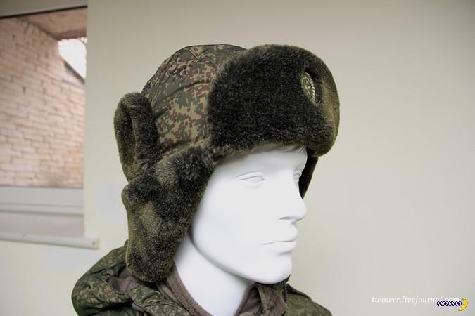О способах ношения новой шапки-ушанки