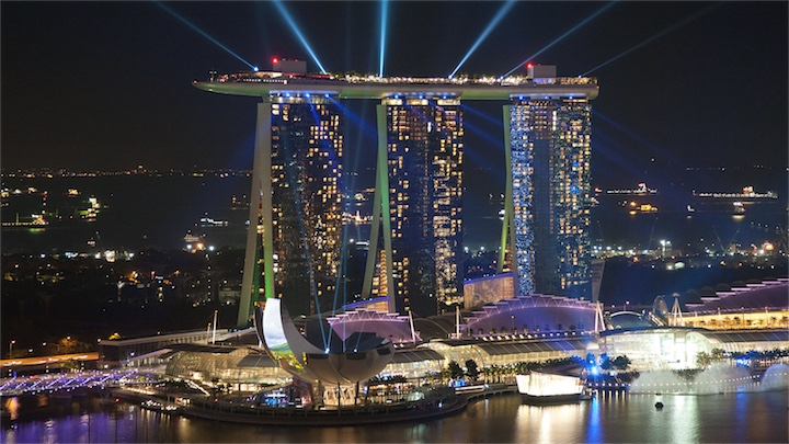Казино Marina Bay Sands