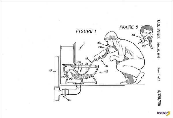 Это реальные патенты на изобретения!
