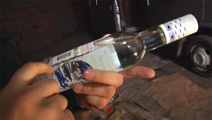 Проверки на дорогах и 18,000 бутылок водки