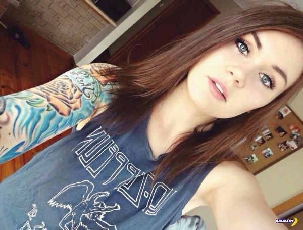 Татуировки на зависть - 27 - На девушках!