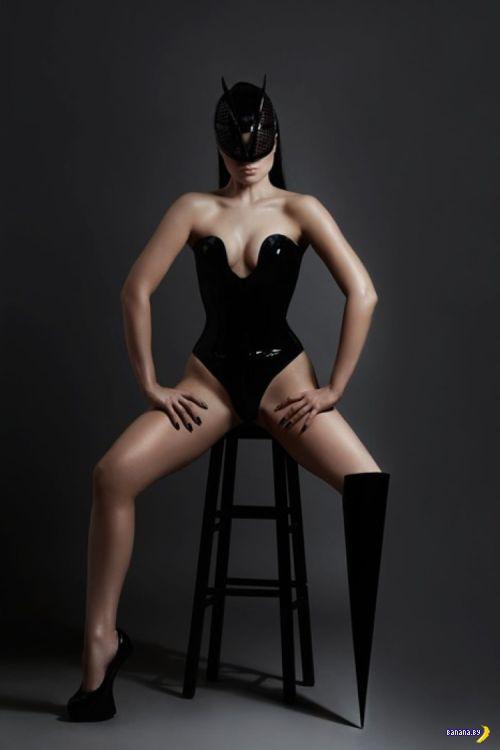 Модель с нечетным количеством ног