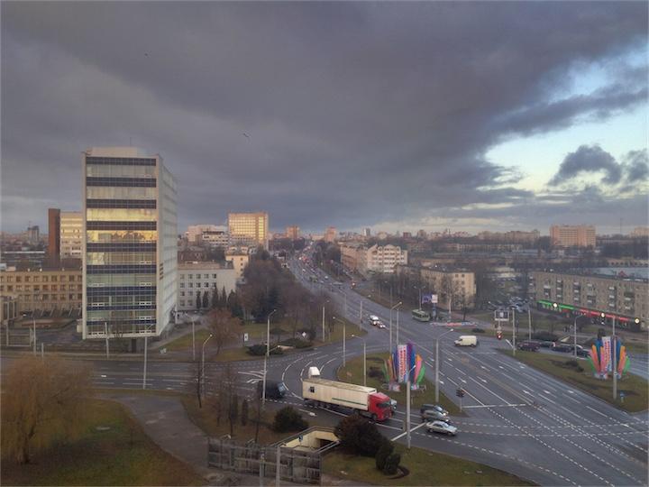 В Беларуси продолжается осень