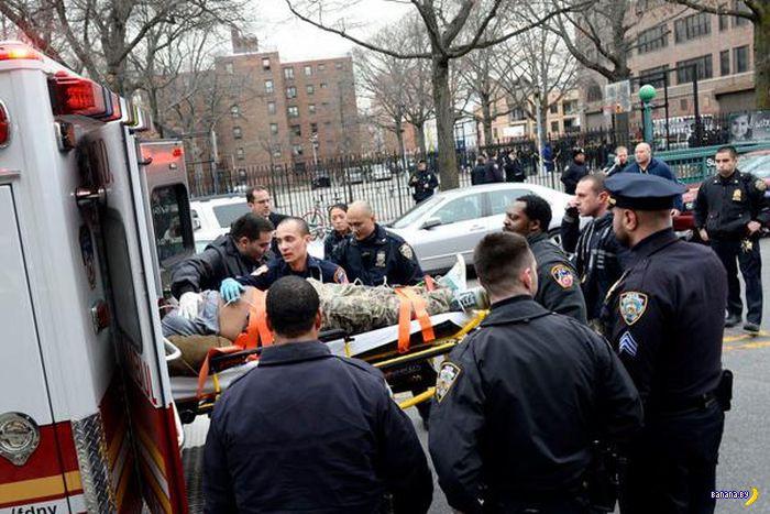 Финал истории с убийцей двух полицейских в Нью-Йорке