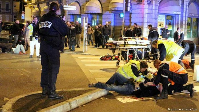 Во Франции странное происшествие