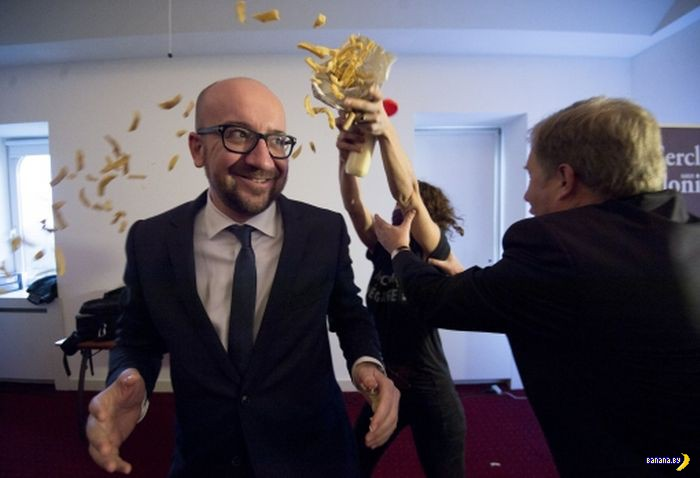 Дерзкое нападение на бельгийского премьер-министра