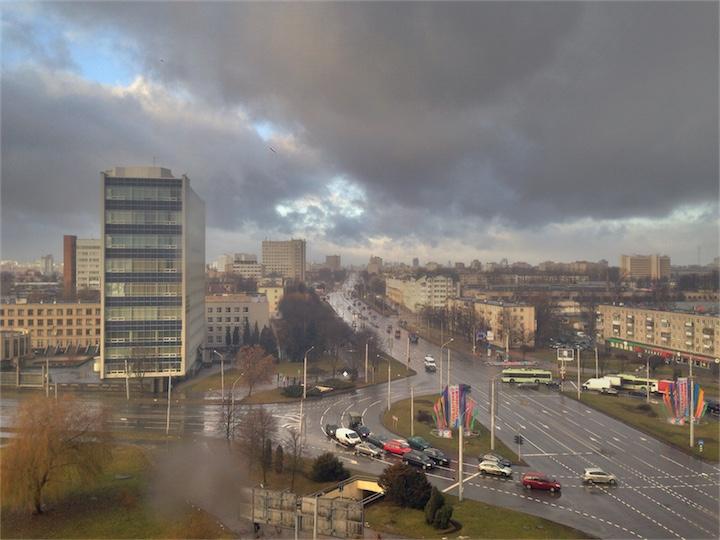 Погода в Беларуси меняется
