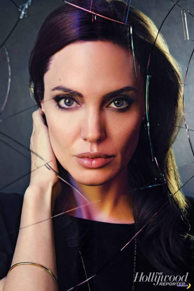 Космическая Джоли для The Hollywood Reporter