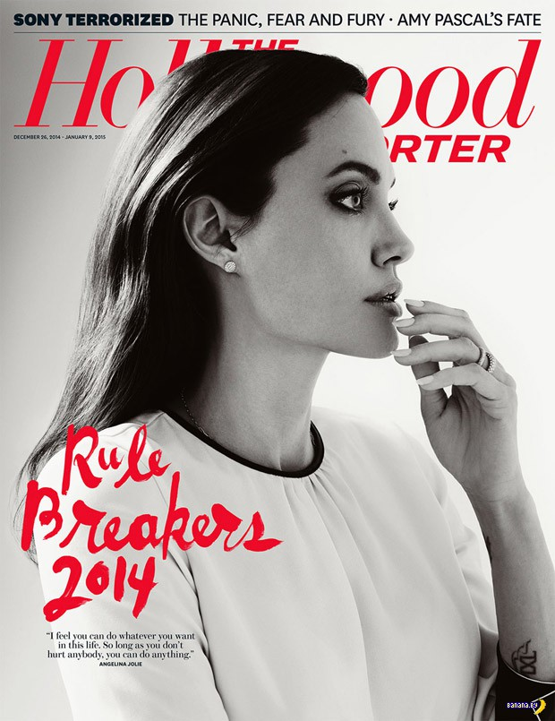 Космическая Джоли для The Hollywood Reporter