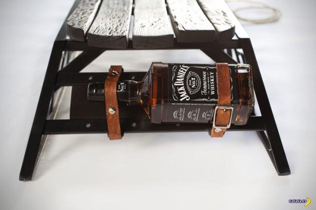 Правильные санки от Jack Daniel's