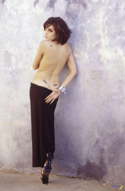 Неизвестные фото молодой Джоли