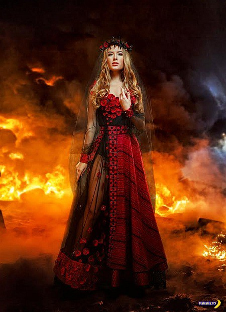 Украина отправит Невесту Войны на конкурс красоты