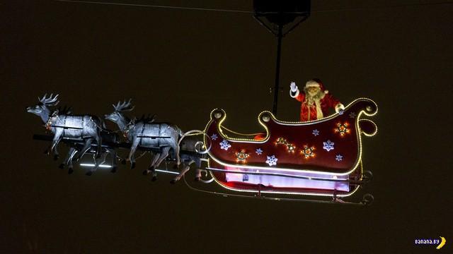 Российские ПВО сбили Санта-Клауса