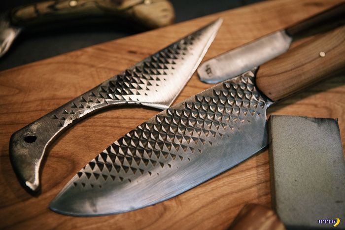 Шикарные ножи из всего
