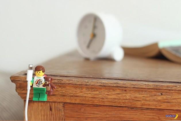 Лайфхакеры рапортуют: LEGO и Apple совместимы!