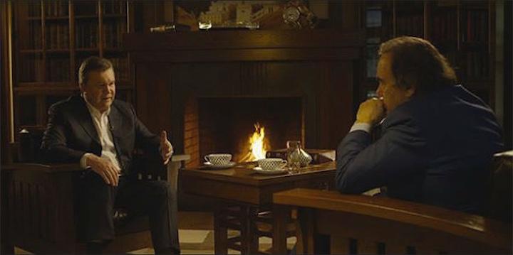 Оливер Стоун работает над фильмом о Викторе Януковиче