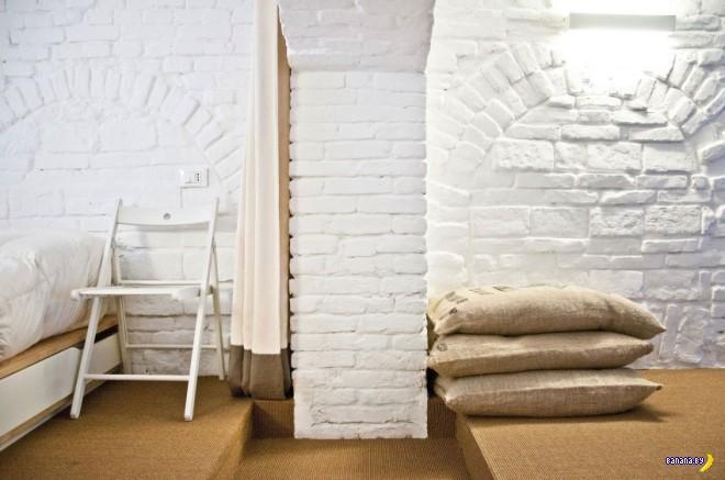 Квартира для холостяка из старой лавки